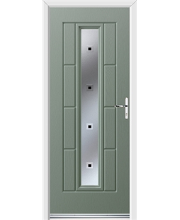 Ultimate Vermont Rockdoor in Chartwell Green with Quadra