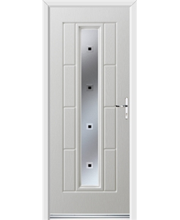 Ultimate Vermont Rockdoor in White with Quadra