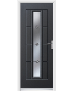 Ultimate Vermont Rockdoor in Anthracite Grey with Trio