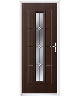 Ultimate Vermont Rockdoor in Mahogany with Trio
