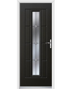 Ultimate Vermont Rockdoor in Onyx Black with Trio