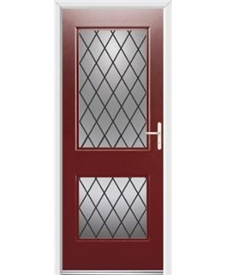 Ultimate Virginia Rockdoor in Ruby Red with Diamond Lead