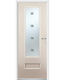 Ultimate Vogue Rockdoor in Cream with Abyss Glazing