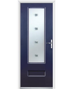 Ultimate Vogue Rockdoor in Sapphire Blue with Abyss Glazing