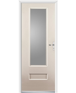 Ultimate Vogue Rockdoor in Cream with Glazing