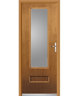 Ultimate Vogue Rockdoor in Irish Oak with Glazing