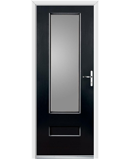 Ultimate Vogue Rockdoor in Onyx with Glazing