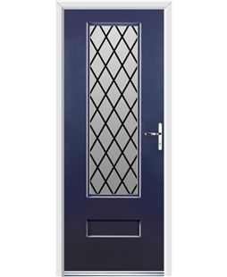 Ultimate Vogue Rockdoor in Sapphire Blue with Diamond Lead