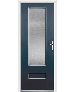 Ultimate Vogue Rockdoor in Anthracite Grey with Gluechip Glazing