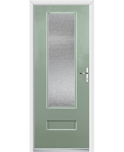 Ultimate Vogue Rockdoor in Chartwell Green with Gluechip Glazing