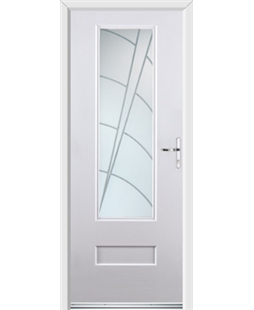 Ultimate Vogue Rockdoor in Blue White with Ocean Glazing