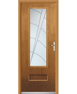 Ultimate Vogue Rockdoor in Irish Oak with Ocean Glazing