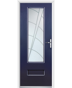 Ultimate Vogue Rockdoor in Sapphire Blue with Ocean Glazing