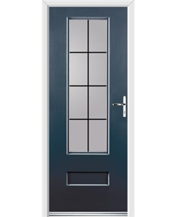 Ultimate Vogue Rockdoor in Anthracite Grey with Square Lead