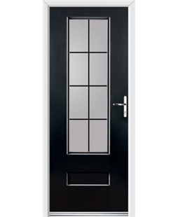Ultimate Vogue Rockdoor in Onyx with Square Lead