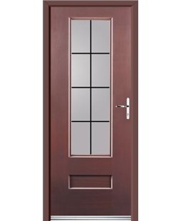 Ultimate Vogue Rockdoor in Rosewood with Square Lead