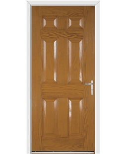 Warwick FD30s Fire Door in Oak