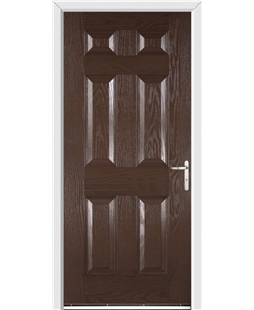 Warwick FD30s Fire Door in Rosewood