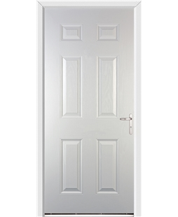 Warwick FD30s Fire Door in White