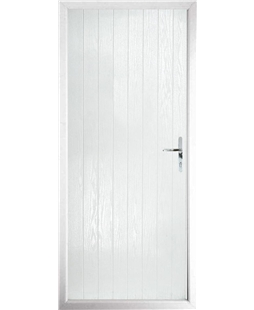 The Newcastle Composite Door in White