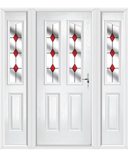 The Birmingham Composite Door with Side Panels