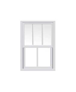 West Yorkshire uPVC Sliding Sash Window in White