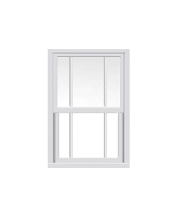 Hampshire uPVC Sliding Sash Window in White
