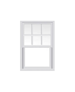 Essex uPVC Sliding Sash Window in White