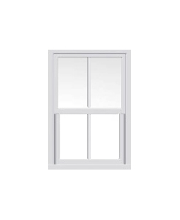 West Midlands uPVC Sliding Sash Window in White