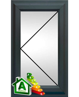 The Bolton uPVC Double / Triple Glazing Windows in Anthracite Grey
