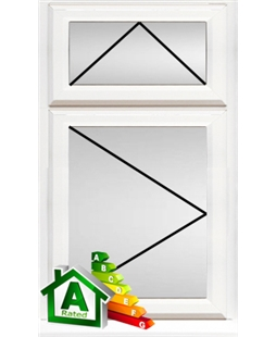 Brighton uPVC Double / Triple Glazing Windows in White