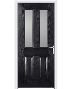 Windsor FD30s Fire Door in Black