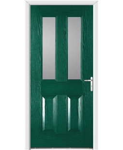 Windsor FD30s Fire Door in Green
