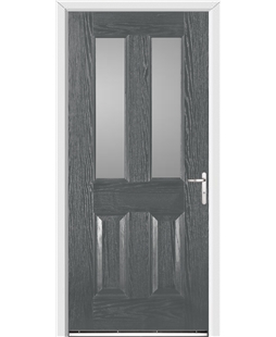 Windsor FD30s Fire Door in Grey