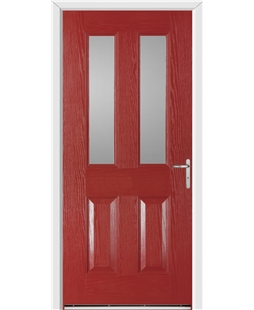 Windsor FD30s Fire Door in Red