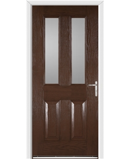 Windsor FD30s Fire Door in Rosewood