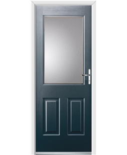 Ultimate Windsor Rockdoor in Anthracite Grey with Glazing