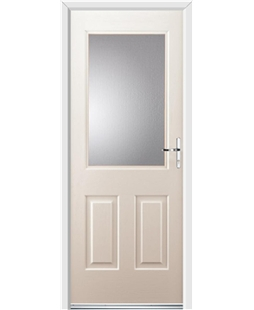 Ultimate Windsor Rockdoor in Cream with Glazing