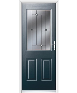 Ultimate Windsor Rockdoor in Anthracite Grey with Crystal Bevel