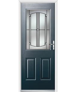Ultimate Windsor Rockdoor in Anthracite Grey with Ellipse Glazing