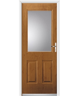 Ultimate Windsor Rockdoor in Irish Oak with Glazing