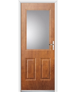 Ultimate Windsor Rockdoor in Light Oak with Glazing
