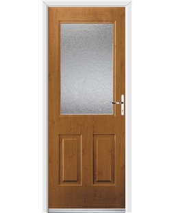Ultimate Windsor Rockdoor in Irish Oak with Gluechip Glazing