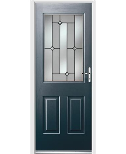 Ultimate Windsor Rockdoor in Anthracite Grey with Linear Glazing