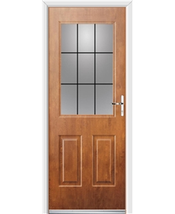 Ultimate Windsor Rockdoor in Light Oak with Square Lead