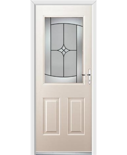 Ultimate Windsor Rockdoor in Cream with Summit Glazing
