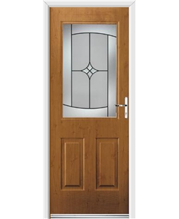 Ultimate Windsor Rockdoor in Irish Oak with Summit Glazing