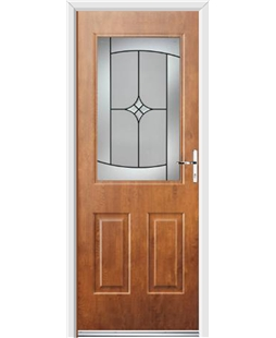 Ultimate Windsor Rockdoor in Light Oak with Summit Glazing