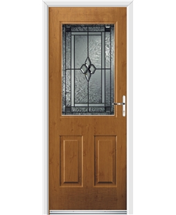 Ultimate Windsor Rockdoor in Irish Oak with Triton Glazing