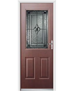 Ultimate Windsor Rockdoor in Rosewood with Triton Glazing